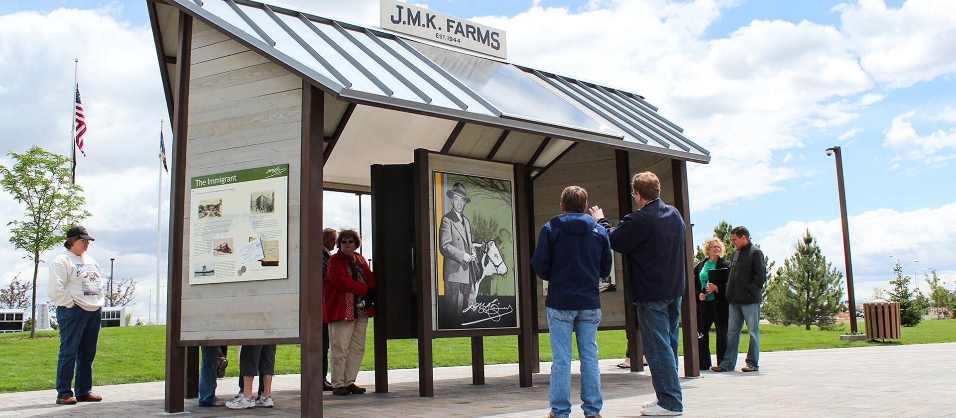 Julius Kleiner Memorial Park, Meridian Idaho Interpretive Signs