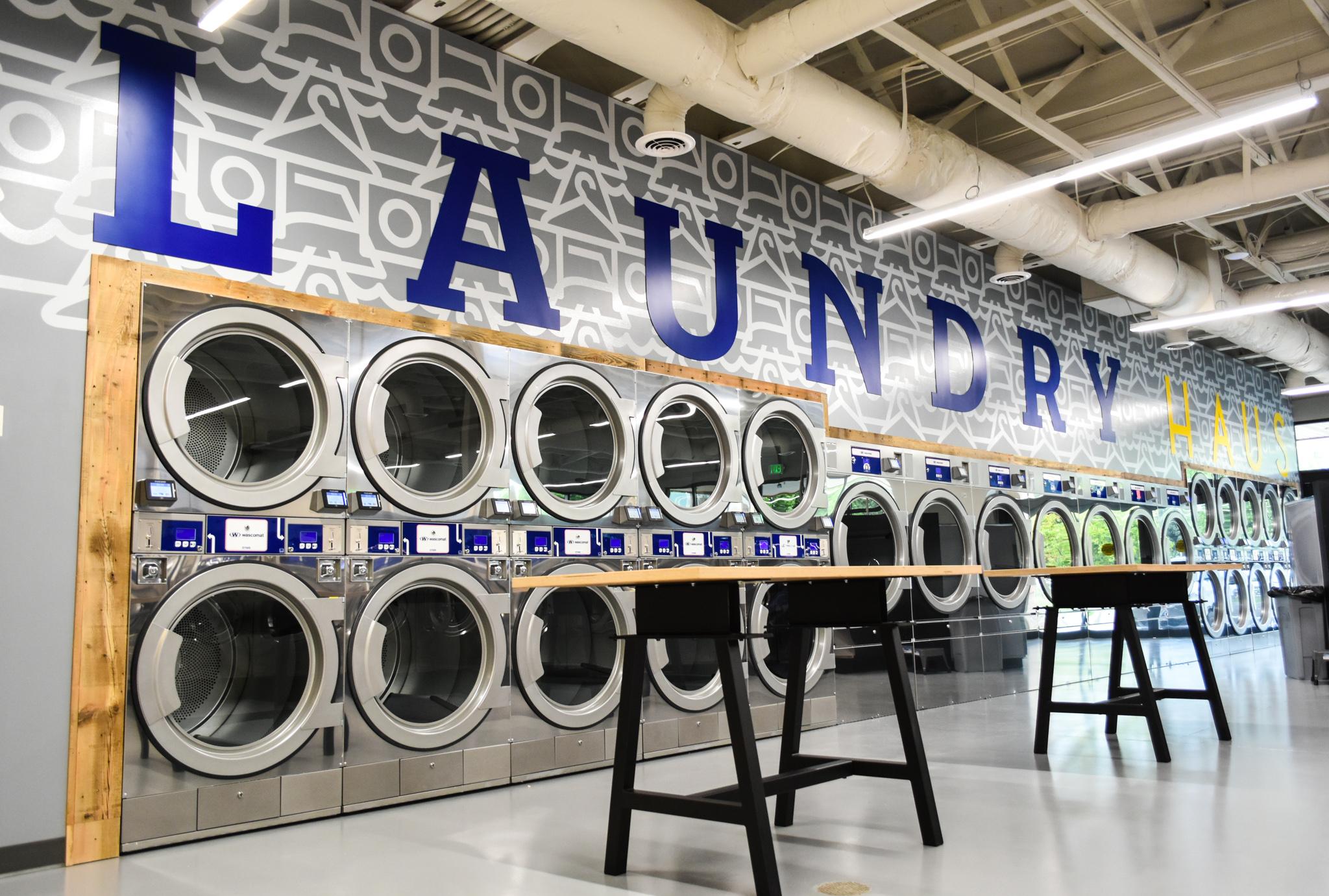 Laundry Haus Environmental Branding