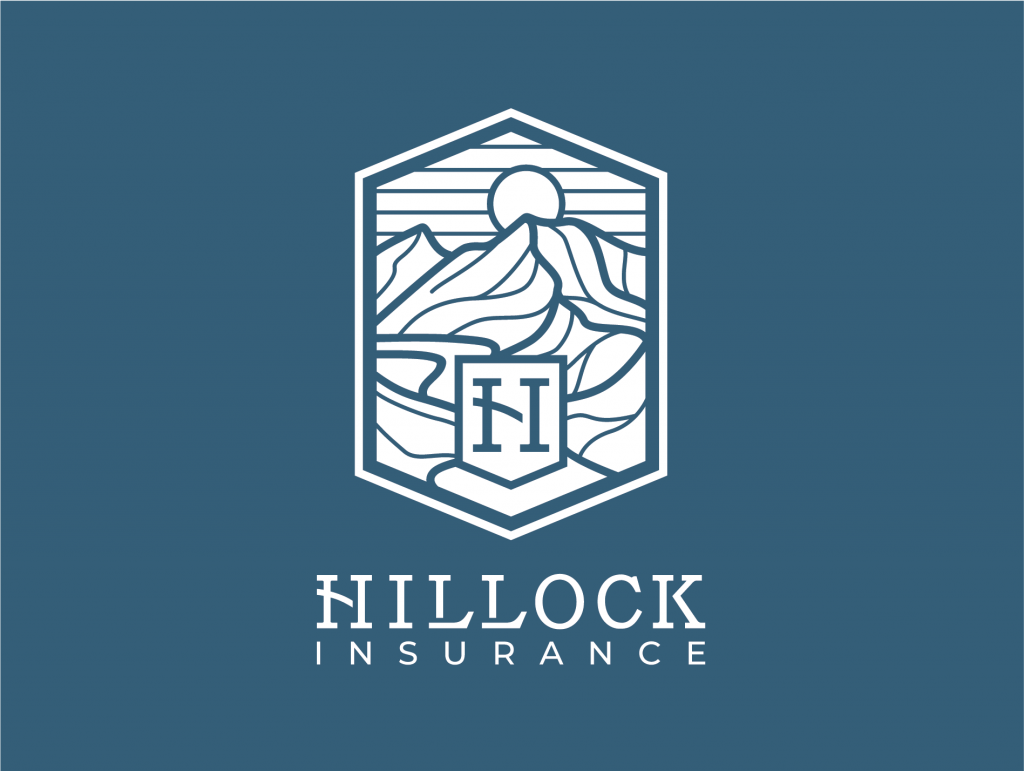 Hillock Insurance Brand Identity Logo