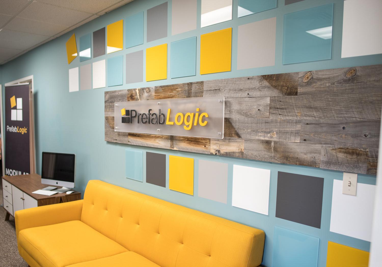 Prefab Logic reception sign