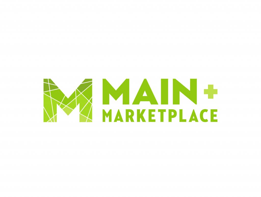 Main + Marketplace Brand Identity, Logo Design