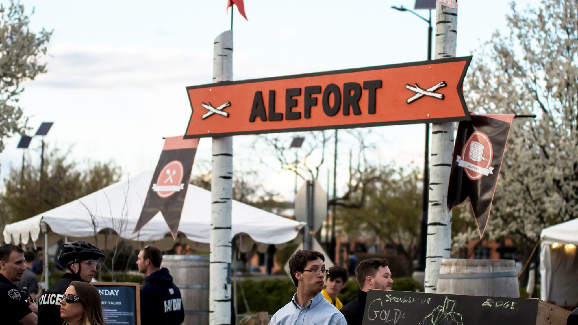 Treefort Music Festival Signage & Wayfinding Design