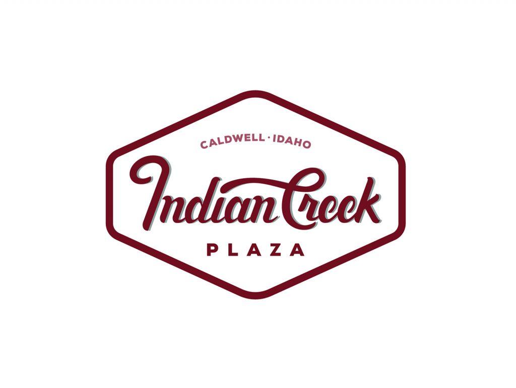 Indian Creek Logo Patch Design