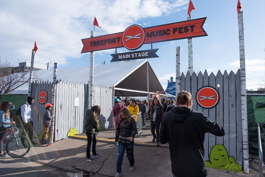 Treefort Music Festival Entryway Signage